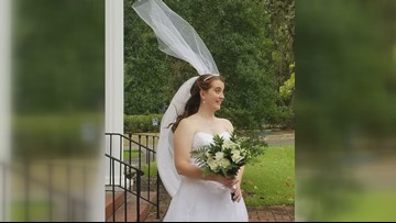 Florence no match for South Carolina couple's wedding
