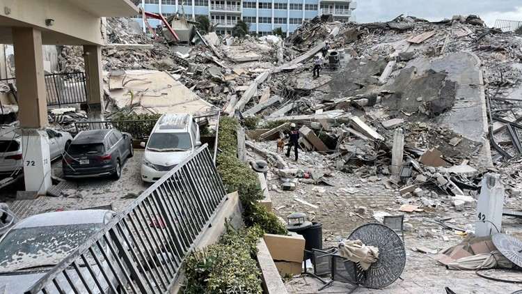 Miami-area condo collapses; 1 dead, 35 rescued, as many as 51 unaccounted for