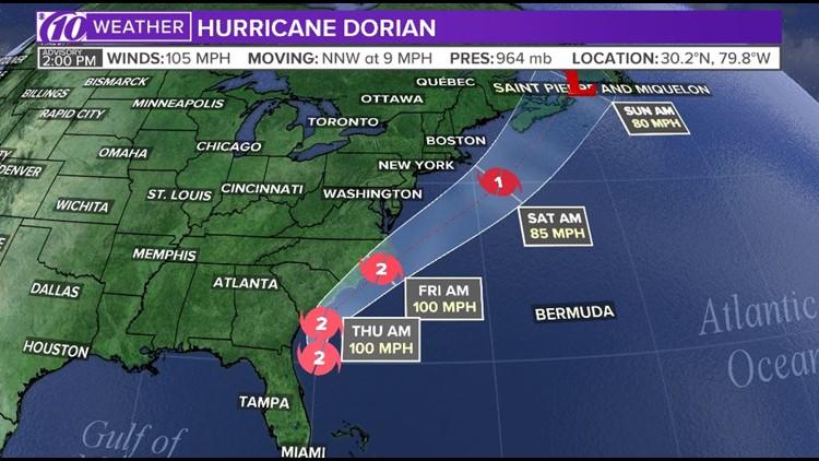 Hurricane Dorian 2p 9-4-19