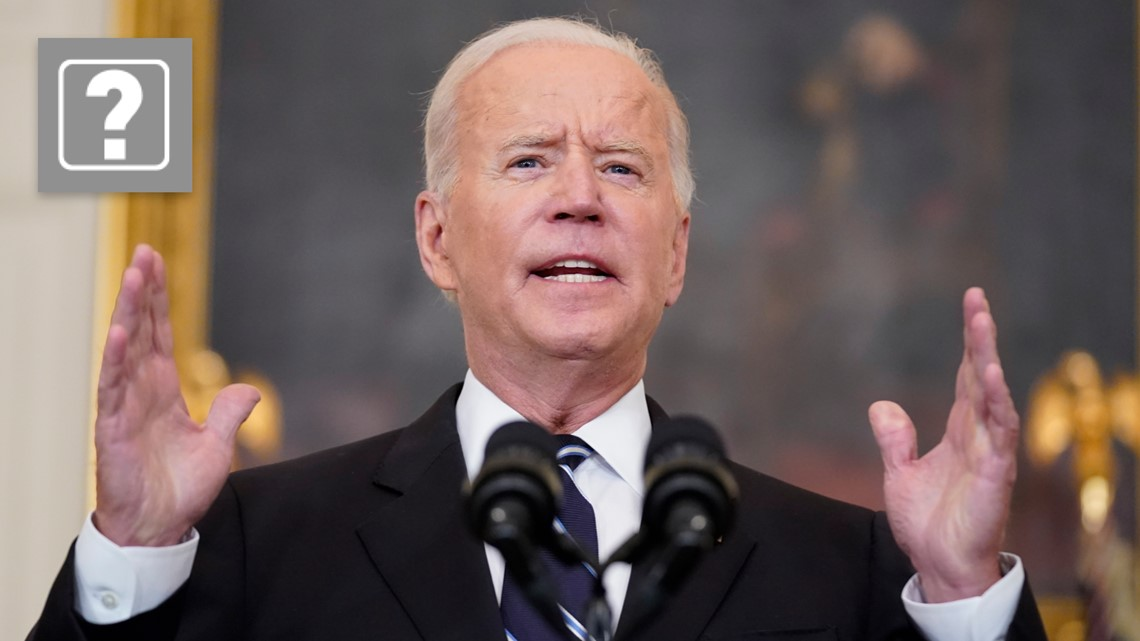 VERIFY: Are President Biden's vaccine executive orders legal?
