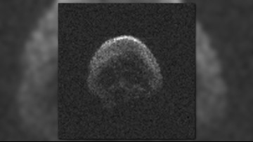 'Skull' asteroid making return flyby of Earth