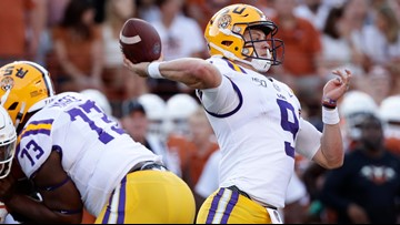 AP Top 25: LSU moves up to give SEC 3 of top 4 in the college football poll