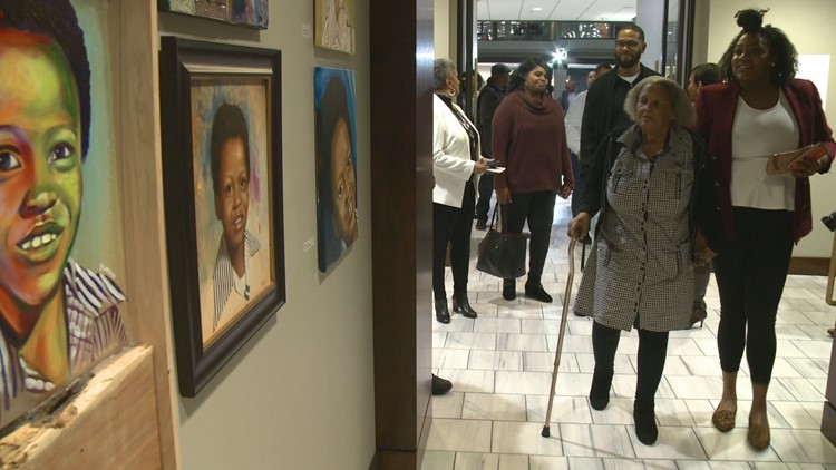 City unveils Atlanta Child Murders memorial portraits