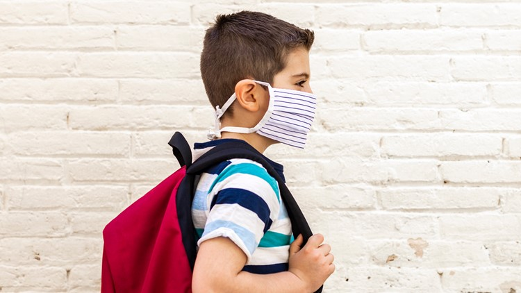 Why do children struggle with masks?